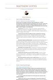 Sales And Marketing Resume Samples Unique Sales Marketing Manager Resume Samples VisualCV Resume Samples