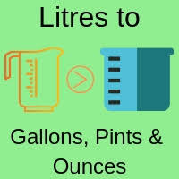 Litres To Gallons Pints And Ounces Converter L To Gal Pt And Oz