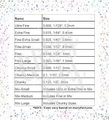 Glitzy City Llc Size Chart Glitzys Llc Packaging Bulk