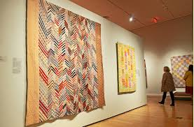"Michener Art Museum presents quilt exhibit ""Blanket Statements"" – & A portion of the exhibit at the Michener Art Museum titled 'Blanket  Statements: New Adamdwight.com"
