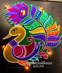 Rangoli Art Designs For Diwali Kolamdesign Rangoliart Rangoli Designs New Rangoli