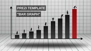 Bar Graph Prezi Presentation Template Creatoz Collection
