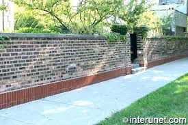 sublime cost of brick wall cost of brick wall building a fence per metre brickwork cost