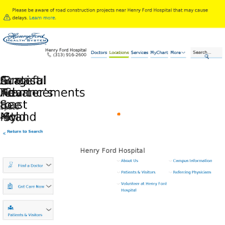 Henry Ford Hospital My Chart Henryfordhospital Org At Wi Henry Ford Hospital Henry