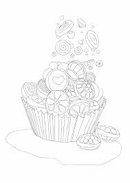 Icolor Cupcakes 1785x2526 Candy Coloring Pagescoloring
