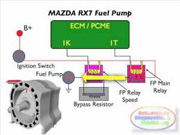 mazda rx7 rotary engine fuel pump electrical mazda rx7 rotary engine fuel pump electrical