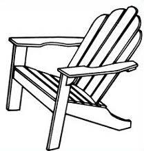 Clipart and adirondack chair Clipart Collection Adirondack