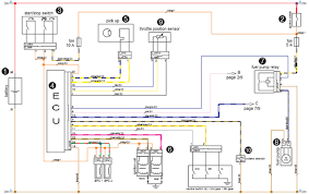 wiring diagram of ignition system wiring wiring diagrams ktm 950 adventure typical ecu and ignition system