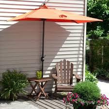 singular incredible c coast 7 ft better half patio umbrella at half umbrella for patio images literarywondrous ft half wall commercial patio umbrella