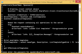 sharepoint online templates get sharepoint online list templates with powershell