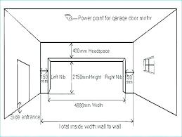 door height average garage door height average garage door height door height and width ideal car door height
