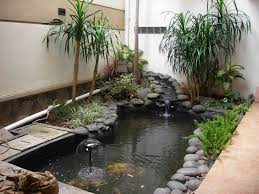 Small Picture inspiring indoor garden design with pond 2960 hostelgardennet