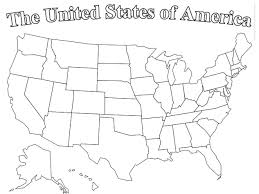 Small Picture Blank Page Of United States Map Printable Editable Blank