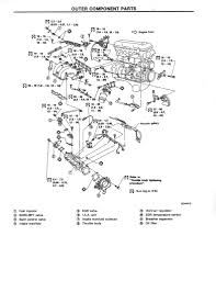 nissan sentra wiring diagram images details about 1992 92 nissan 240sx repair workshop manual ka24de s13