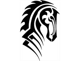 tribal horse head clip art.  Art Clipart Info To Tribal Horse Head Clip Art