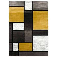 yellow area rug contemporary grey and yellow area rug 8x10