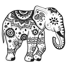 Coloring Page Elephant Coloring Page Elephant Printable Pages Pretty