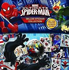 Spiderman Deluxe Sticker Collection Create Scenes Incl Keep Sake Box Reward Chart Loads Of Stickers And Much More