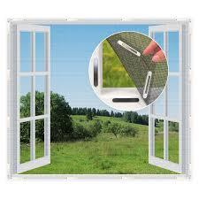 Fenster Moskitonetz Mit Magnetbefestigung Magic Klick 150x130cm