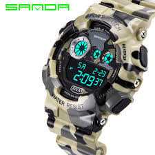 online buy whole camouflage watch from camouflage watch 2016 table reloj camouflage military digital sports watch 50m waterproof multifunction sports watch student impact shock