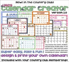 Calendar Creator Make And Print Your Own Calendars Make Your Own Calendars  2015