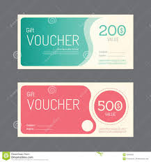 Label Design Vector Free Download Vector Gift Voucher Coupon Template Design Paper Label