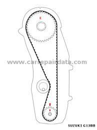 suzuki baleno 1 3i 16v 1995 2002 g13bb car repair manual g13bb camshaft drive