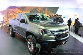 LA Live - Chevrolet Colorado ZR2 Concept - Indian Autos blog