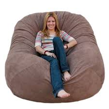 bean bag chairs. Amazon.com: Cozy Sack 6-Feet Bean Bag Chair, Large, Earth: Kitchen \u0026 Dining Chairs
