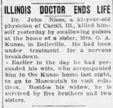 JOHN NIESS-DEATH, MAY 1932 - Newspapers.com