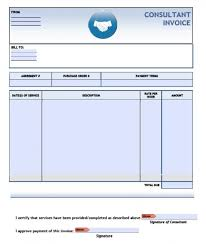 Sample Of Invoice For Consulting Services Consulting Invoice Template Under Fontanacountryinn Com