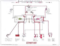 double relay article itinerant air cooled when the engine starts we release the ignition key the starter circuit drops out the csv and tts are cut off as well and inside the double relay