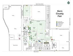 Kern County Fair Map Bakersfield Ca Mappery