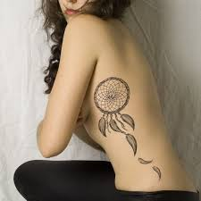 Dream Catcher Tattoos On Side Unique 32 Dreamcatcher Tattoo Designs 32