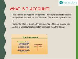 t account in accounting t accounts accounting
