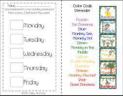 Kindergarten Behavior Color Chart Behavior Charts For Kindergarten Best Picture Of Chart