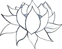 Appealing Easy Flower Coloring Pages Pretty Flowers Coloring Pages