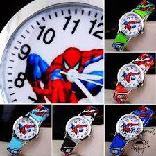 WOO-<b>Hot Sale SpiderMan Watch</b> Cute Cartoon Watch Kids Watches ...