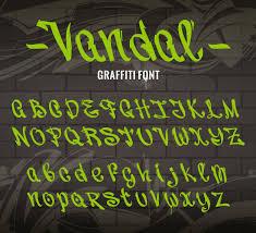 Graffiti Font Free Graffiti Font Collection Vector Free Download