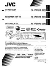 jvc kd g340 radio cd manuals jvc kd g340 radio cd instructions manual