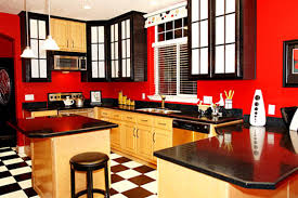 painting kitchen wallsRed Painted Kitchens Design  Home Design Ideas