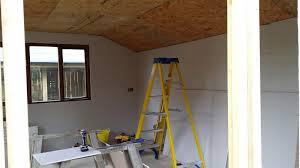 convert shed to office. Convert Shed To Office. Plasterboard On Osb Office T E