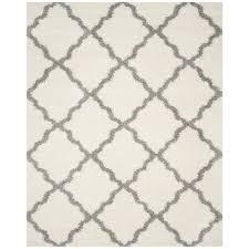 safavieh dallas ivory gray indoor moroccan area rug common 8 x 10
