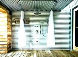 corrugated metal ceiling ideas corrugated metal ceiling tiles galvanized tin shower how to rustic fans bathroom