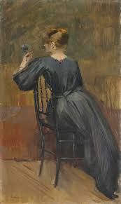 jean eugène clary french 1856 1930 portrait of suzanne valadon
