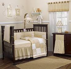Plaid Bedroom Baby Nursery Wooden Furniture Sets For Baby Bedroom Brown Plaid