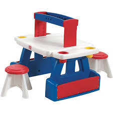 step2 deluxe art master desk chair walmart home chairs step2 creative projects table includes two stools walmart com