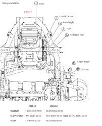 headlight relay load control relay 08 nytro snowest snowmobile forum part 26 in the diagram is a wiring harness adapter for the 2011 updated relay yamaha part 8hg 81952 00 00