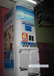 Water Vending Machine Near Me Fascinating Water Shop Chalks One Up For The Environment 48 Earth 4848 Billion