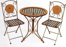 collection garden furniture accessories pictures. Charming Mosaic Fold Away Garden Chairs With Round Table By Vivaterra Ideas For Patio Furniture Collection Accessories Pictures E
